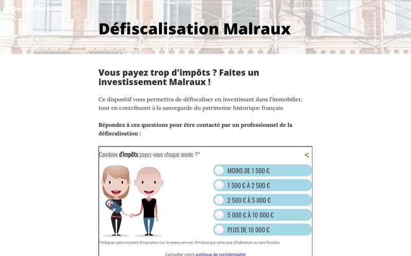 Défiscalisation Malraux