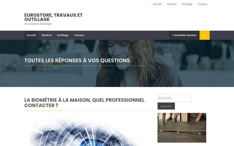 Eurostore, travaux et outillage - Vos astuces bricolage