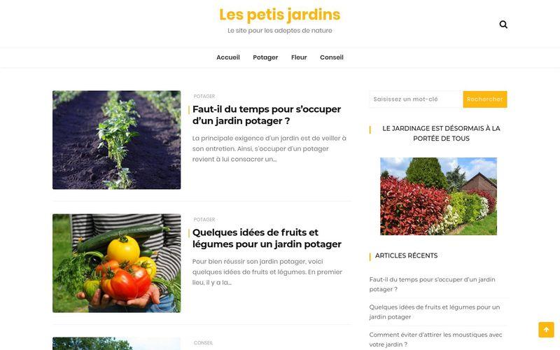 Les petis jardins - Le site pour les adeptes de nature